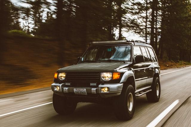 Black jeep Colfax